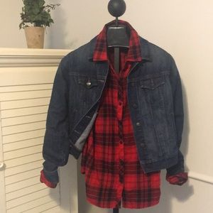 Women's medium Jean jacket Worn once like new!